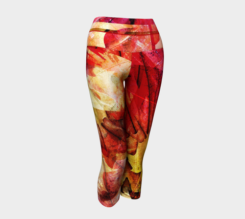 MEDIUM - Maple - Yoga Capris