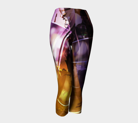 Light In Me Purple - Capris