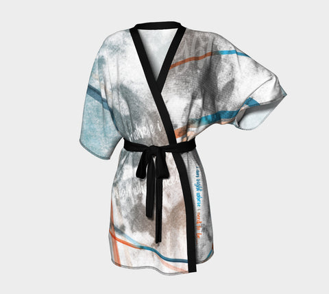 Where I Am - Kimono Robe