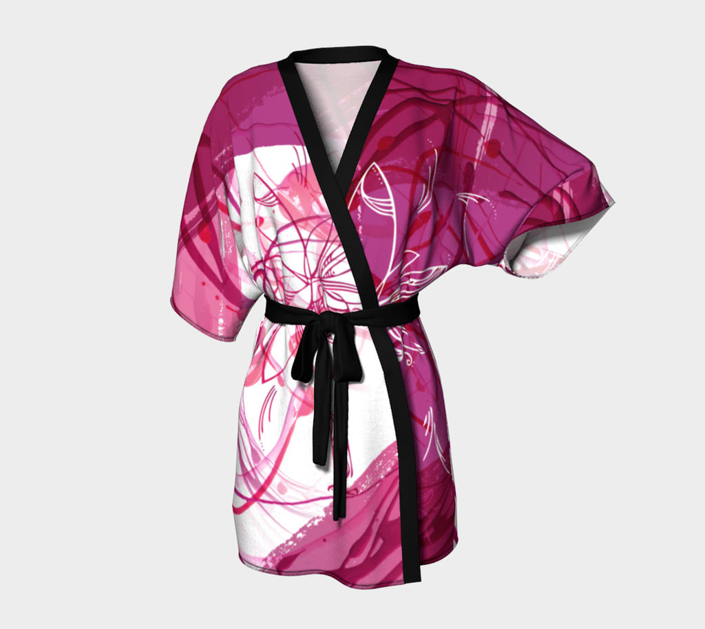 The Creative Palm Tree - Kimono Robe