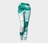 Infinite Love Turquoise - Leggings