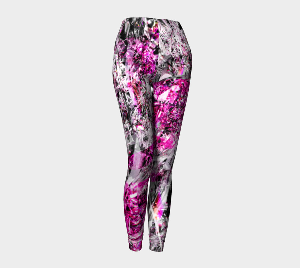 Shine Fuschia - Leggings