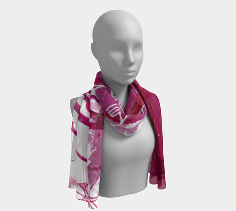 The Creative Palm Tree - Long Scarf