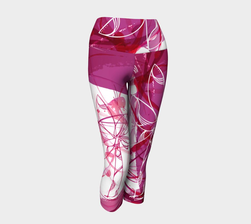 The Creative Palm Tree - Yoga Capris