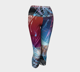 Featherscape - Yoga Capris