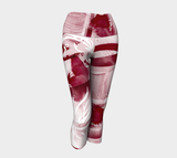 Infinite Love Merlot - Yoga Capris