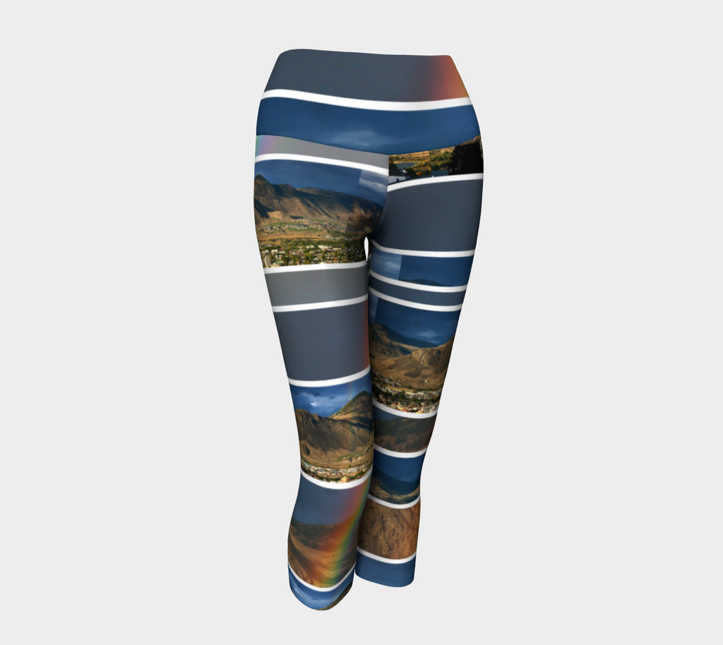 Kamloops Rainbow - Yoga Capris