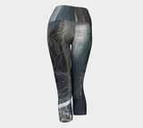 Lotus Pewter - Yoga Capris