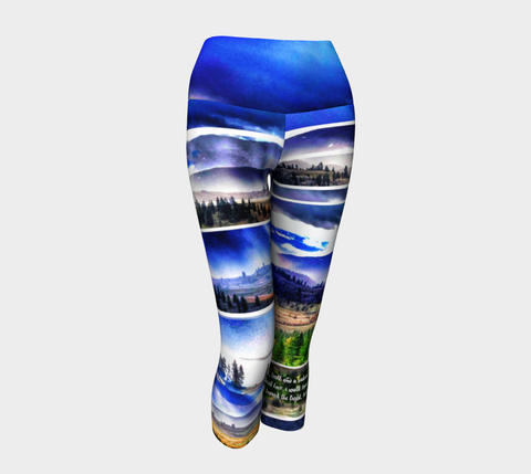 Radiant Love - Yoga Capris