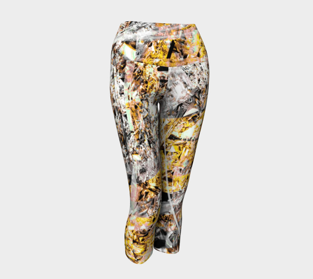 Shine Honey - Yoga Capris