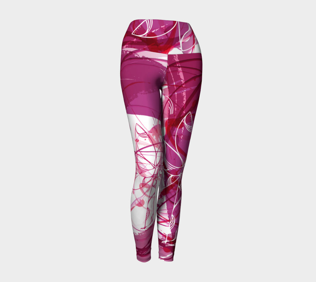 The Creative Palm Tree - Yoga Leggings