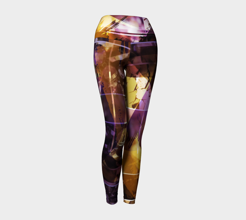 Light In Me Purple - Yoga Leggings