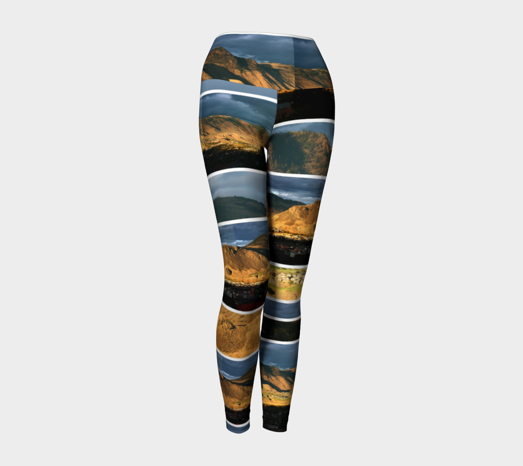 Kamloops Sunset - Yoga Leggings