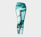 Infinite Love Turquoise - Yoga Leggings