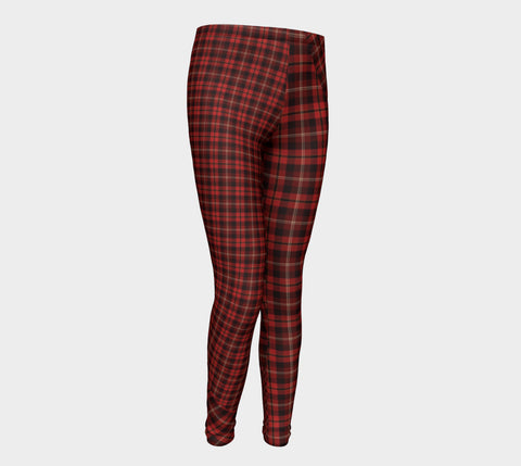 Tartan with a Twist - Youth Leggings