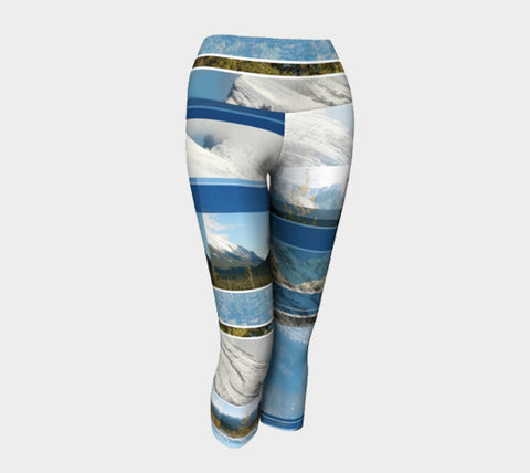 The Rocky Mountains - Yoga Capris