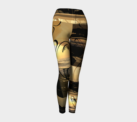 SMALL - Sunset Journey - Yoga Leggings