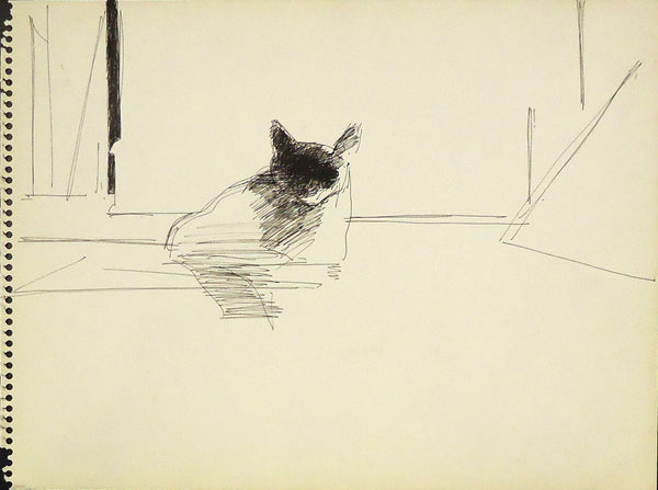 Sidney Goodman: Cat Study