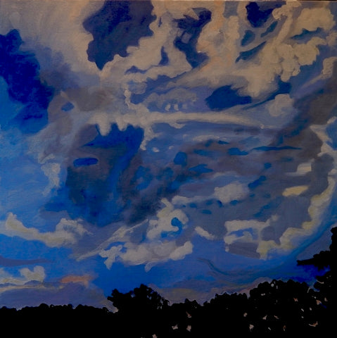 Mary Powers Holt: June Morning Sky