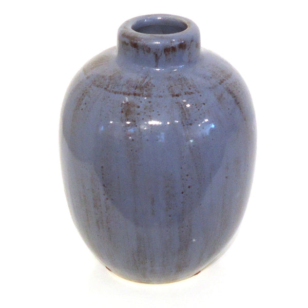 Mini Ceramic Vase, Purple
