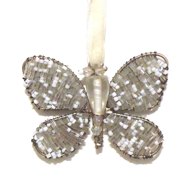 Beaded Butterfly Suncatcher