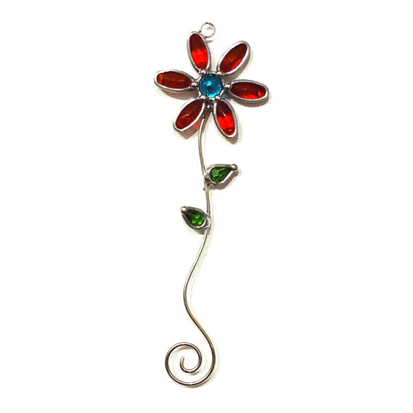 Jewel Flower Suncatcher