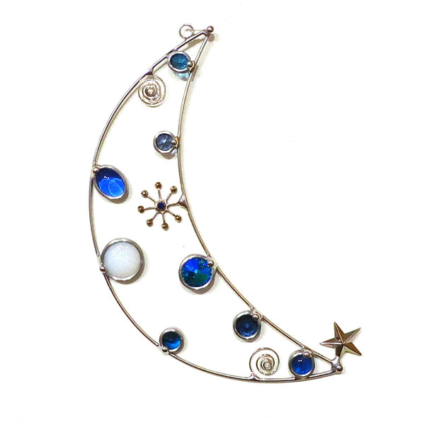 Crescent Moon Suncatcher
