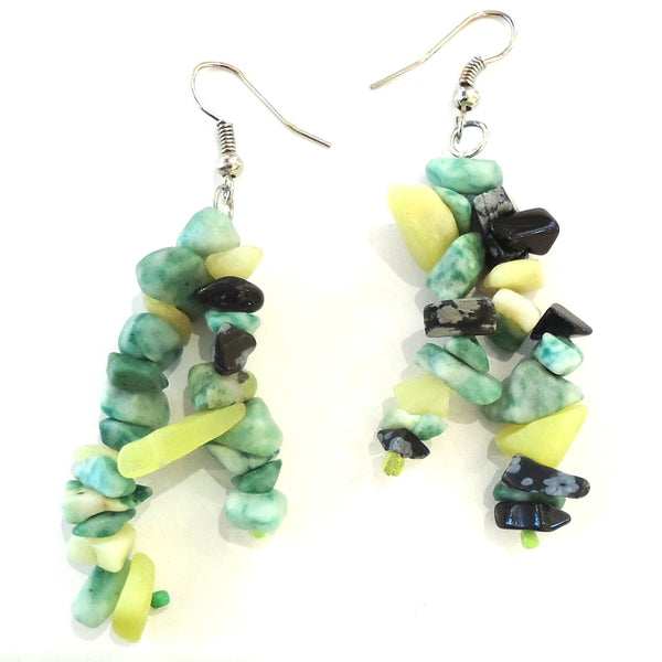 Two Strand Earrings, Color