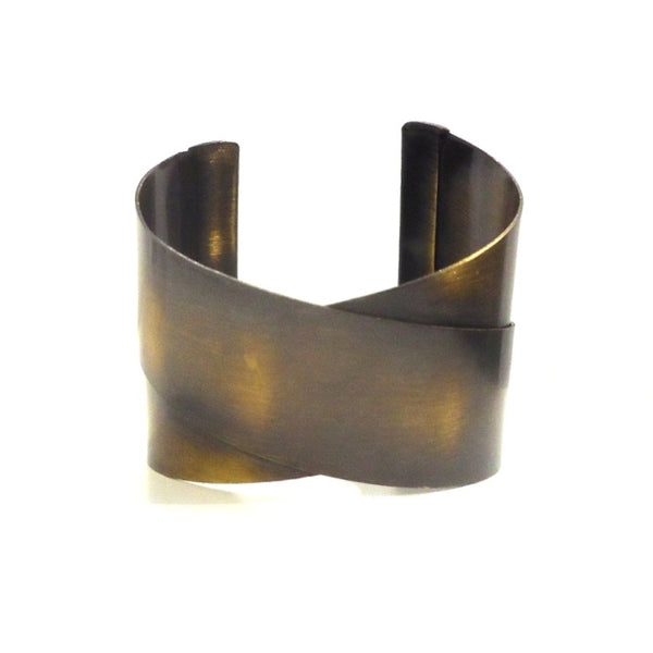Brushed Brass Cuff