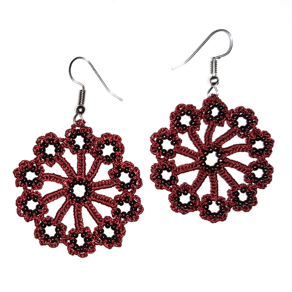 Astor Earrings - Marsala