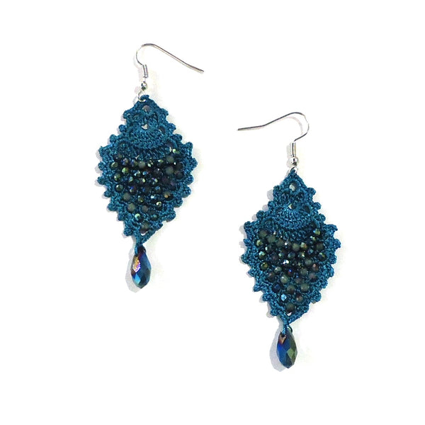 Sole Earrings - Turquoise