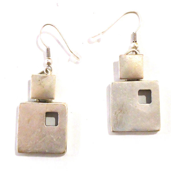 March of Squares Earrings