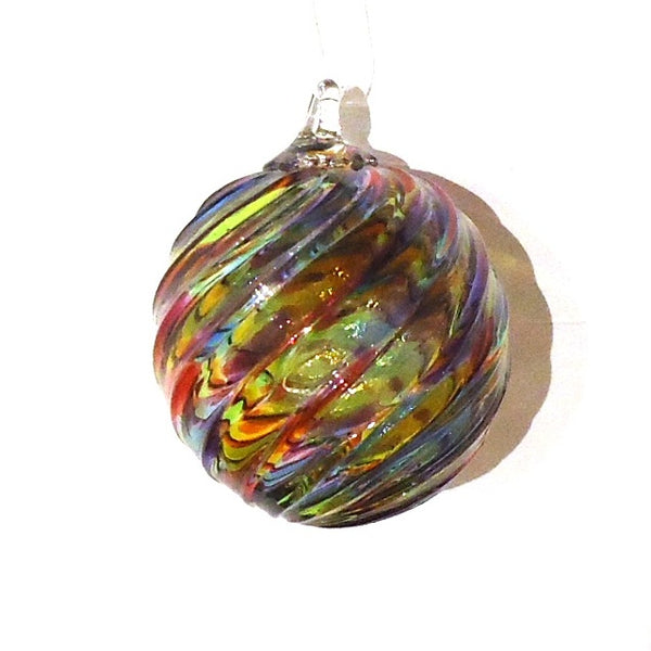 Hand Blown Glass Orb