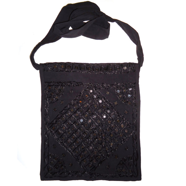 Black Kutchi Shoulder Bag