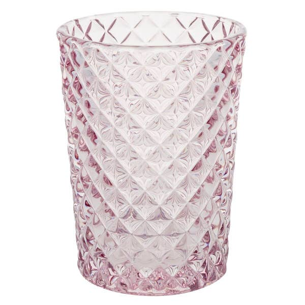 Pink Glass Votive