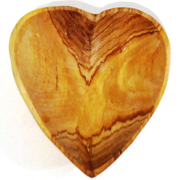 Wild Olivewood Heart Bowl - Small