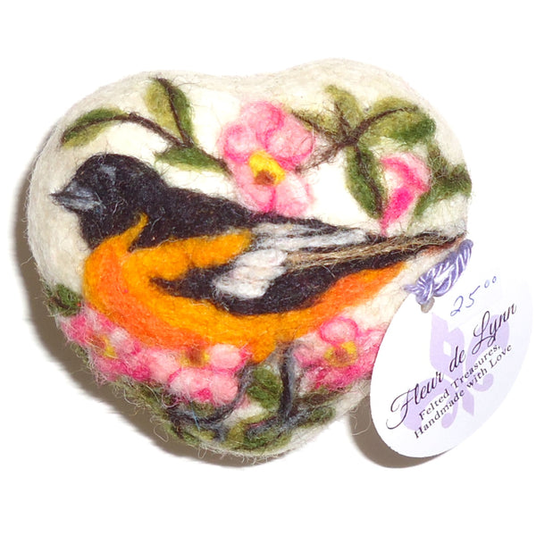 Felted Soap, Oriole