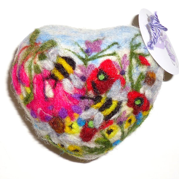 Felted Soap, Bumble Bee