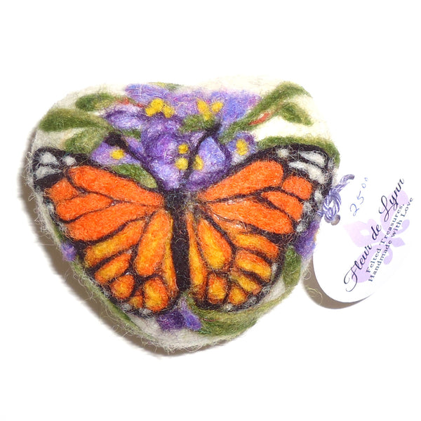 Felted Soap, Monarch