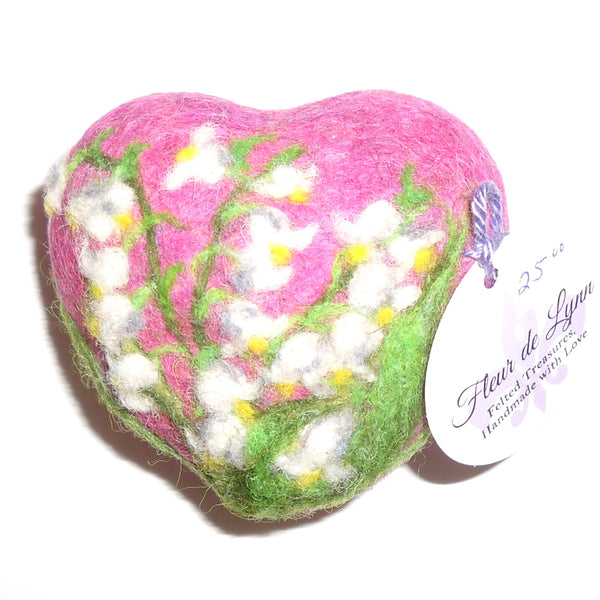 Felted Soap, Lily of the Valley