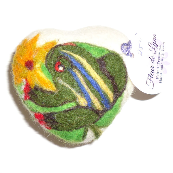 Felted Soap, Frog