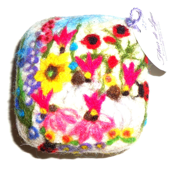 Felted Soap, Flower Garden