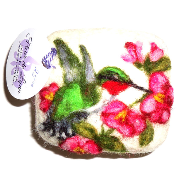 Felted Soap, Hummingbird