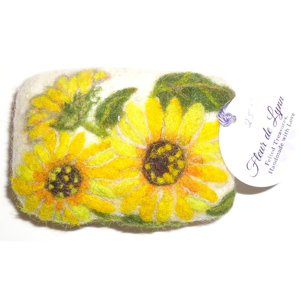 Felted Soap, Sunflower