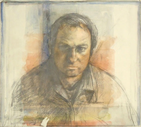 Sidney Goodman: Self-Portrait