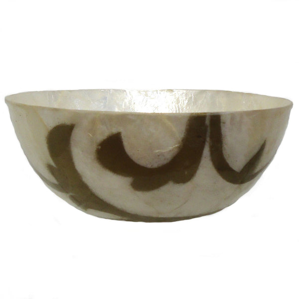 Capiz Shell Bowl