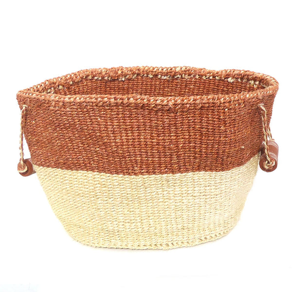 Sisal Oval Basket with Handles