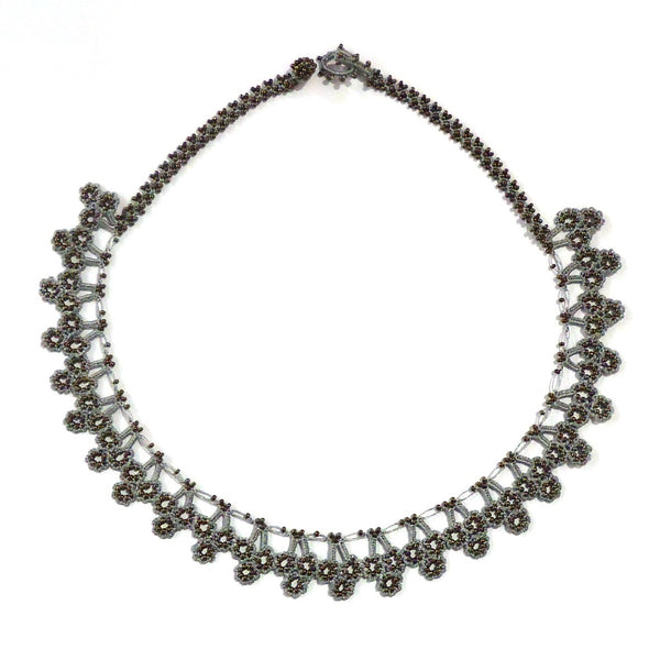 Goreme Sunrise Necklace - Grey