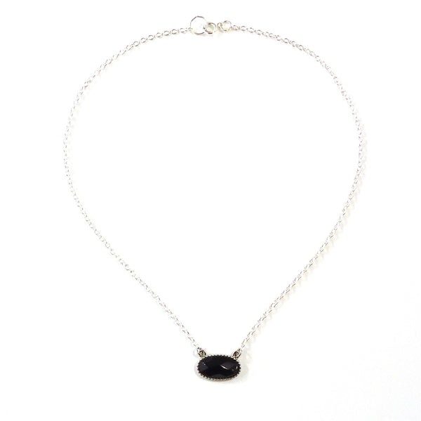 Onyx Pendant Necklace