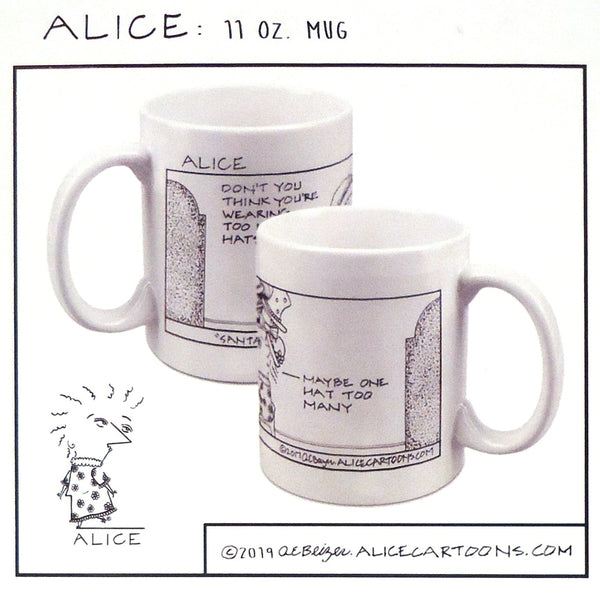 Alice Cartoons Holiday Mug